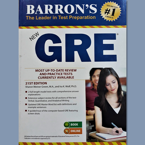 Barrons Gre Book 20th Edition