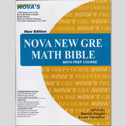 NOVA GRE MATH BIBLE EPUB