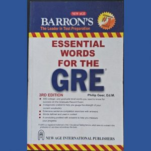 barrons essential words for the gre 4th edition pdf