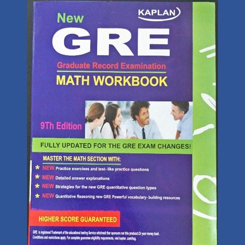 Kaplan New GRE Math Workbook